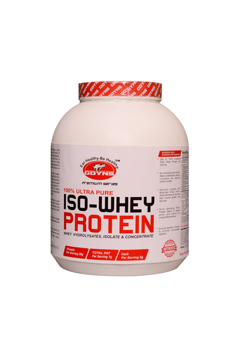 GDYNS 100 % Ultra Pure ISO-Whey Protein 5lbs(2268g)