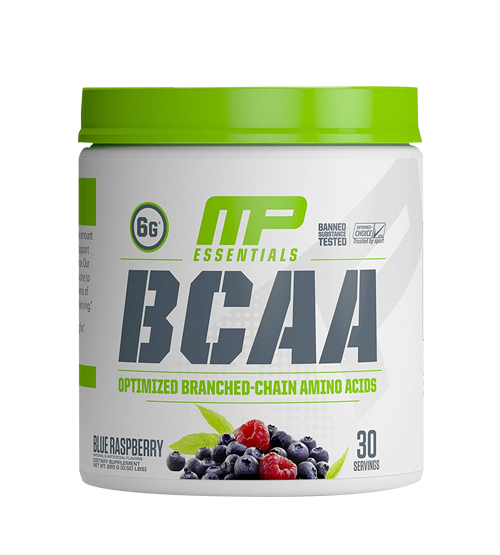 Musclepharm Essentials Powder 30 Serving Blue Raspberry, 225 Gm