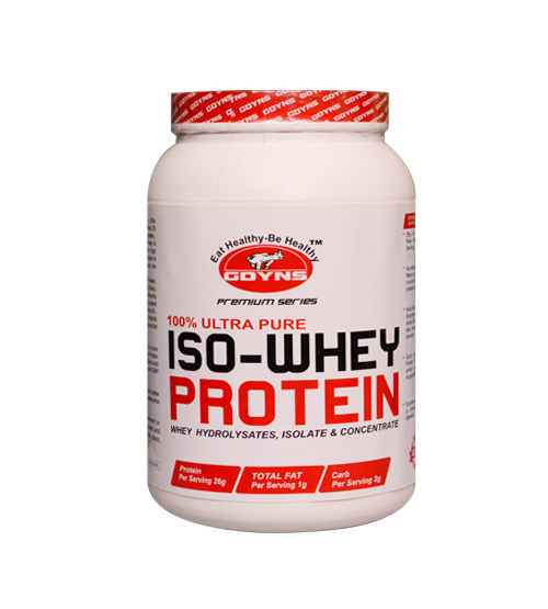 GDYNS 100 % Ultra Pure ISO-Whey Protein 2lbs(908g)