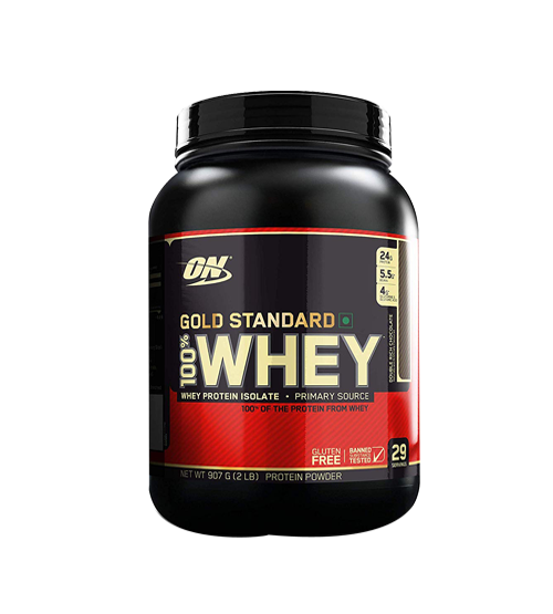 Optimum Nutrition Gold Standard 100% Whey Protein  (907 g, Double Rich Chocolate)