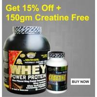 GDYNS Whey Power Protein 2500gm+150gm Creatine Free