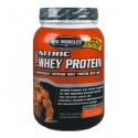 Big Muscle 100% Nitric Whey Protein, 2 lb Chocolate
