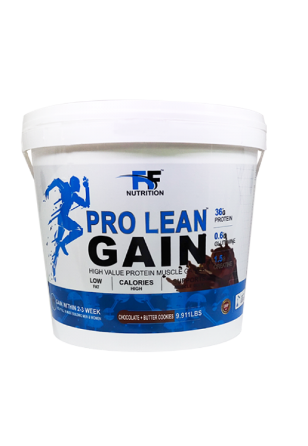 FF PRO LEAN GAIN CHOCOLATE BUTTER COOKIES 9.911LBS