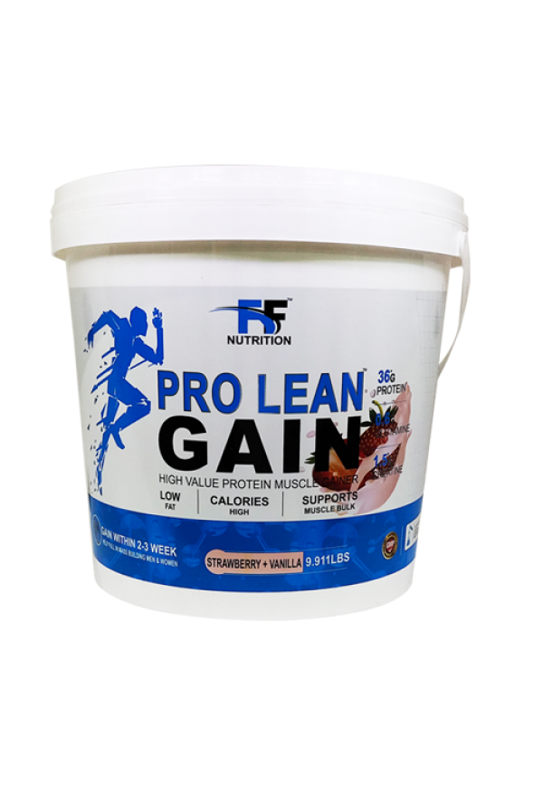 FF PRO LEAN GAIN STRAWBERRY VANILLA 9.911LBS