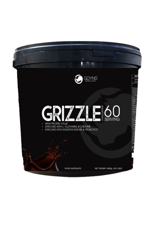 GDYNS GRIZZLE LEAN GAINER -4500G (9.91LBS)