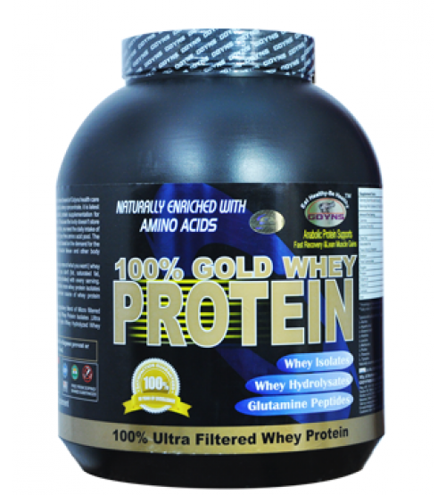 GDYNS 100%  Gold Whey Protein 2500gm +150 gm Creatine Free