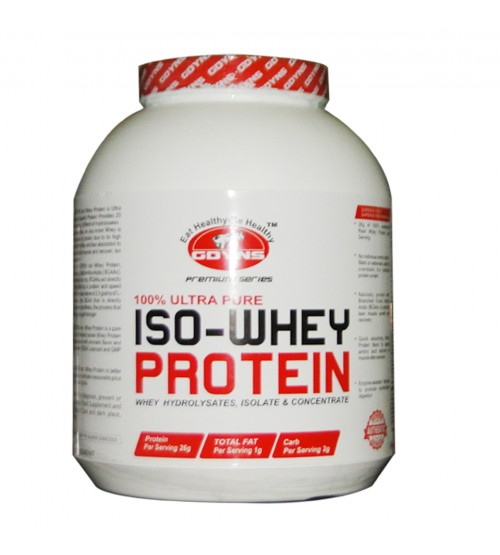GDYNS 100% ULTRA PURE ISO- WHEY PROTEIN-5LBS