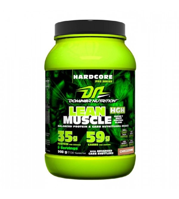Domin8r Nutrition lean Muscle, 2 lbs Choco