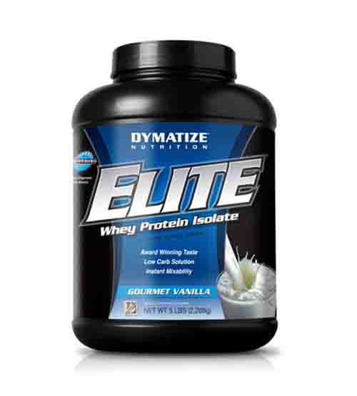 Dymatize Elite Whey Protein Isolate 5 Lbs Chocolate